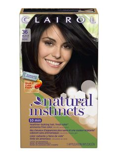 Best Temporary Hair Color  Don't want to commit to a hair color? Try out Clairol Natural Instincts Hair Color which washes out in 28 washes.