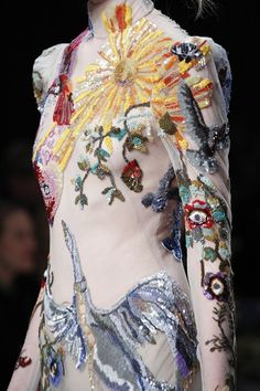 McQueen's divine London return