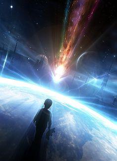 Conceptual Art by Neville D'Souza #space #scifi