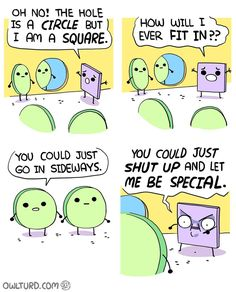 """14 Times Owlturd Comix Totally Nailed The Struggles Of Life - Funny memes that """"GET IT"""" and want you to too. Get the latest funniest memes and keep up what is going on in the meme-o-sphere. Funny Pins, Funny Shit, Funny Memes, Funny Stuff, Funny Videos, Random Stuff, Cute Comics, Funny Comics, Funny Cartoons"""