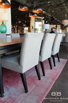 Modern Style Dining Chairs with Indoor Outdoor fabric- stain resistant