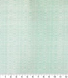 Outdoor Fabric Linen Texture Light Aqua,