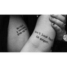 Suzi's Oasis tattoo