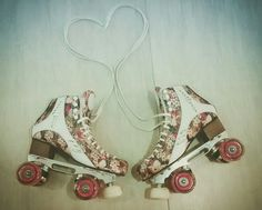 My Skate Meus patins #rye #patins #retro #floral #traxart