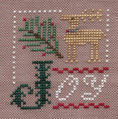 Garden Grumbles and Cross Stitch Fumbles- Flora McSample 2011 from Lizzie Kate