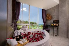 Superior king with bath and sea view Kathu District, Phuket, Thailand