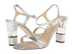 Kate Spade New York Ice Silver Saffiano Metallic Leather - 6pm.com