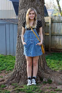 Overall dress - DIY