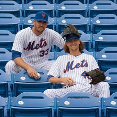 New York Mets - Google+ - Matt Harvey and Jacob deGrom are both vital to our success this season. While they may be similar are on the field, they couldn't be more different off of it. Check out our blog that compares this dynamic duo. http://atmlb.com/1FggA6i