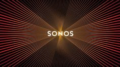 New Sonos logo design pulses like a speaker when scrolled