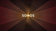 New Sonos logo design pulses like a speaker when scrolled
