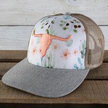 Farm Girl Desert Bull Cap - Clothing World Country Hats, Country Style Outfits, Country Girl Style, Country Dresses, My Style, Country Girl Clothes, Country Girl Fashion, Country Girl Hair, Country Western Outfits