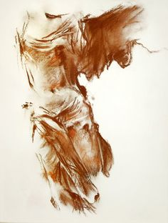 Brown and red conte crayon. A very old piece of mine from around drawn from observation of the original physical statue of Nike in the Louvre, Paris. Nike of Samothrace Life Drawing, Figure Drawing, Painting & Drawing, Victory Tattoo, Winged Victory Of Samothrace, Greek Paintings, Ancient Greek Art, Roman Sculpture, Biblical Art
