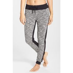 Women's Marc New York by Andrew Marc Colorblock Terry Sweatpants ($48) ❤ liked on Polyvore featuring activewear, activewear pants, marc new york, terry cloth sweatpants, sweat pants and terry cloth sweat pants