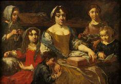 de Ebehardt ou Eberhard ou Bernhardt KEIL ou KEILHAU ou Monsù Bernardo en Italie (danois 1624 - 1687) musée des beaux-arts de Chambéry - FRANCE