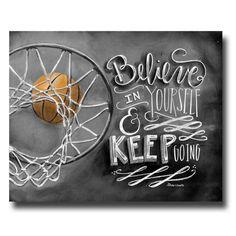 Basketball Decor, Basketball Art, Chalk Art, Chalkboard Art, Believe In… Basketball Drawings, Basketball Art, Basketball Quotes, Basketball Posters, Street Basketball, Soccer, Basketball Drills, Kentucky Basketball, Basketball Legends
