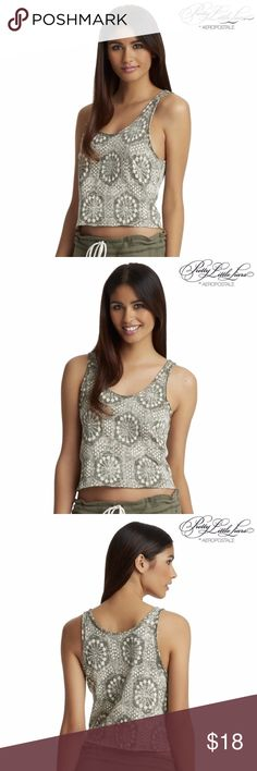 Aeropostale Womens Pretty Little Liars Emily Tank Aeropostale Womens Pretty Little Liars Emily Printed Tank Shirt   This Printed Tank could transform Emily's typical tomboy-chic style into something ultra feminine! An elegant pattern sets it apart, while frayed hems retain some edginess. It would look amazing with an antiqued necklace. -Mandi Line (Pretty Little Liars Costume Designer)   * Relaxed fit. * Size Medium (M) * 100% cotton. * Machine wash/dry. Aeropostale Tops Tank Tops