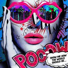 Images Pop Art, Pop Art Wallpaper, Colorful Wallpaper, Tableau Pop Art, Comic Face, Pop Art Fashion, Figure Photography, Arte Pop, Human Art