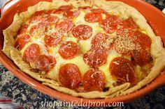 adding vodka to pie crust makes it flakier!