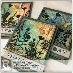 Guest Designer Richele Christensen shares with us how to make these simple greeting cards using the Tim Holtz Distress Oxides! Find Richele's tutorial in our Projects Library: Wildflower Card…