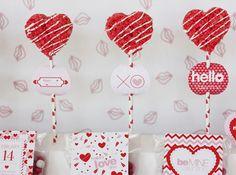 Valentine's Printable Party