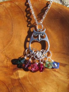 MOTHERS DAY  My Little Hoots  OWL necklace by DestinyAccessory, $26.00