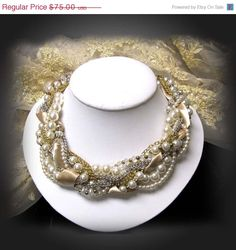 Special Sale 20 OFF Bridal Victorian pearl by BijouxandCouture, $60.00
