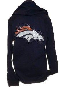 Victoria+Secret+Denver+Broncos | Victoria Secret Denver Broncos Bling Hoodie | eBay