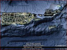 USO unidentified submerged object base off the island of puerto rico in the bermuda triangle