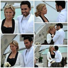 Este momento fue el mejor se casaron a pesar de todo y de manera muy diferente Willy y Navarro!!