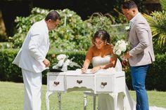 Signing register | Astra bride Sammy | Christina Rossi 4178 | Tatum Park Wedding | Sanele Chadwick Photography and Saint Andrew Photography