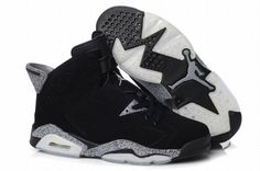 nike air jordan 6 black for men