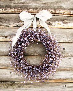 Pretty lavender wreath!