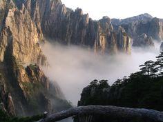 Mount Huangshan, China 중국 황산