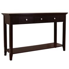 Shop for Ferndale Espresso Console Table. Get free shipping at Overstock.com - Your Online Furniture Outlet Store! Get 5% in rewards…