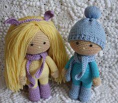 Crochel dolls