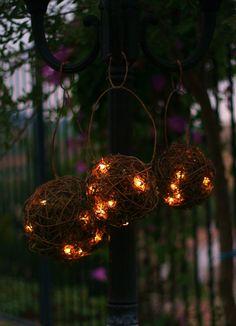 hanging lantern balls