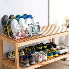 Home Storage & Organization Honesty Multi-function Shoe Storage Rack Shoe Hanging Drying Rack Wardrobe Organizer Living Room Convenient Shoes Stand Shelf