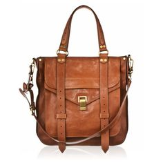 PROENZA SCHOULER PS1 Tote Saddle ❤ liked on Polyvore