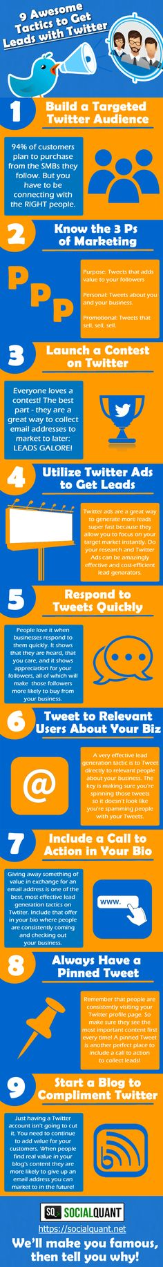 Want to know how to get leads with Twitter? Social Media expert Aaron Lee shares 9 ways to double or even triple the number of leads you get with Twitter!
