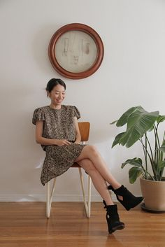 Closet Visit : Momoko Suzuki | Flickr: partage de photos!  Those shoeeeeeees