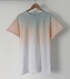 Image of Pastel Midnight Dip Dye Tee
