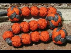 How to make a paracord bead for ranger pace bead counter - by The Paracordist - YouTube