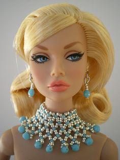 To the Fair Poppy Parker Fashion Royalty Dolls, Fashion Dolls, Estilo Popular, Custom Monster High Dolls, Barbie Doll Accessories, Poppy Parker, Jewelry Model, Vintage Barbie Dolls, Barbie Friends