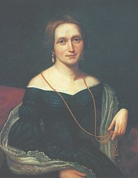 Jacobine Camilla Collett (23 January 1813 – 6 March 1895) was a Norwegian writer, often referred to as the first Norwegian feminist.