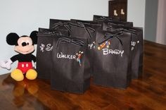 mickey mouse party ideas, from clubhouse cake to hot diggity dogs