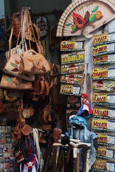 Souvenir Shop . Cuba