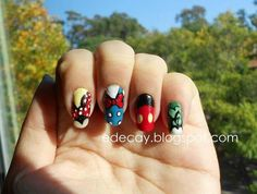 Wicked the musical nail art wickedly wonderful land of oz disney characters clothing on nails prinsesfo Choice Image