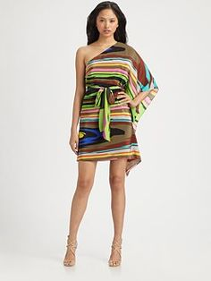 Available Now at Partners'Ltd.  Milly Kaleidoscope Tunic Dress....LOVE!!!