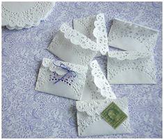 doily envelopes
